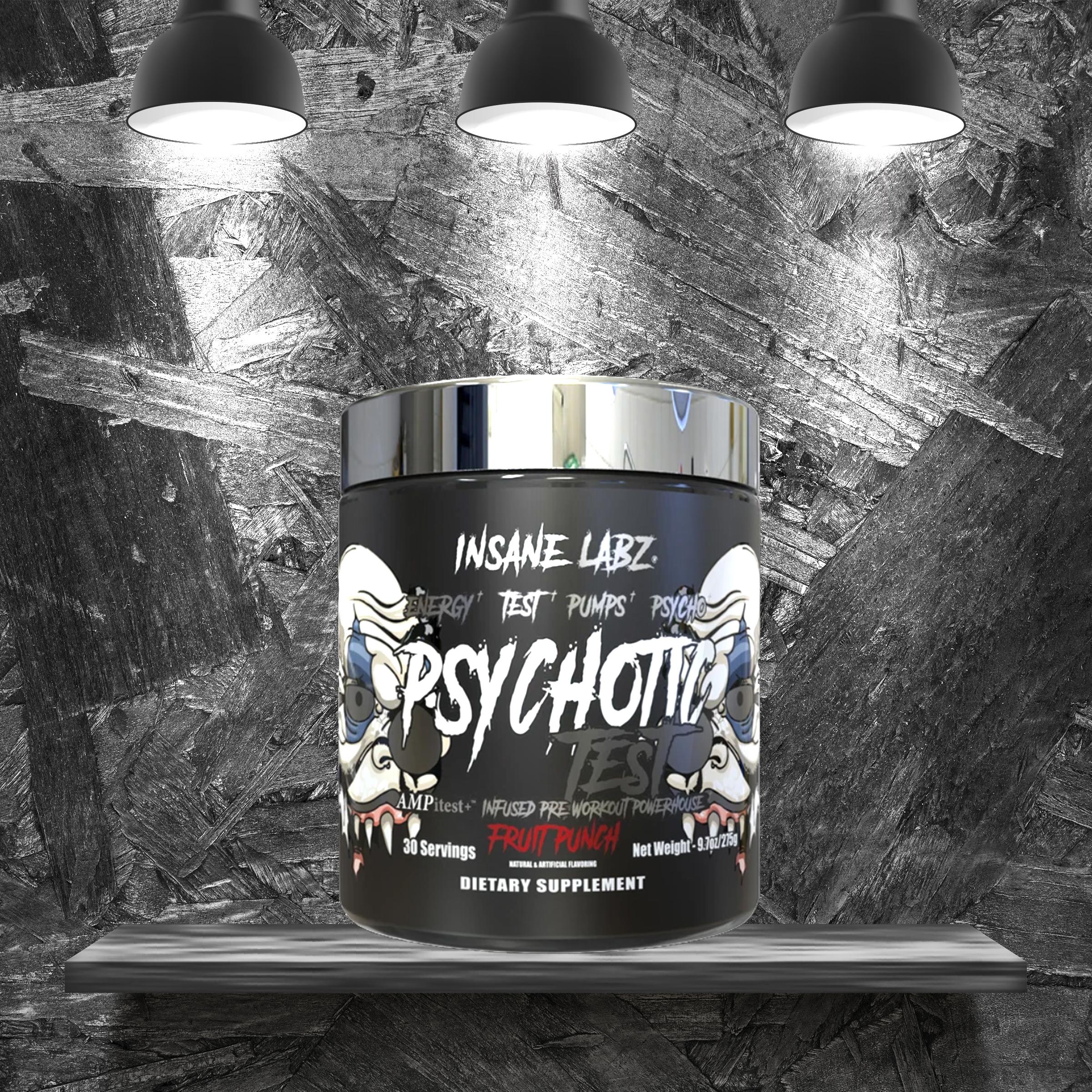 insane labz Psychotic Test – Suplementos AraFitness